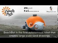 Beachbot - creates large-scale sand drawings