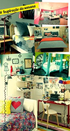 Inspiração da semana: meu quarto, meu universo