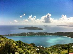 View of Magens Bay St Thomas USVI