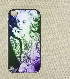 Marilyn Monroe Tattoo Iphone 4 case, iphone 4s