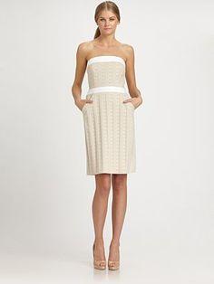 22285dfaaf Milly - Carly Strapless Dress