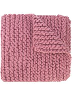 Rose pink wool Billie chunky knit scarf from I Love Mr Mittens featuring a knitted style, finished edges and an adjustable fit. I Love Mr Mittens, Chunky Knit Scarves, Pattern Art, World Of Fashion, Pink Roses, Women Accessories, Wool, Knitting, Crochet