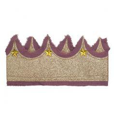 Glitter crown roze/goud van Numero 74