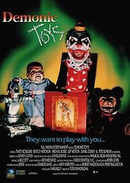 Demonic Toys - Another Full Moon Entertainment movie we used to rent all the time. Great cheesy horror.