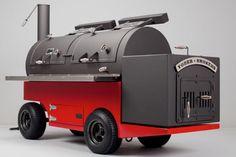 Yoder Smoker Frontiersman Comp Cart BBQ  Here you go, Greg!!!