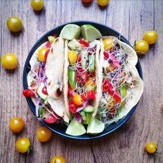 Tacos végétariens, 100% fait maison - Copyright © Gratinez
