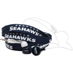 Seattle Seahawks Shoelace Earbuds