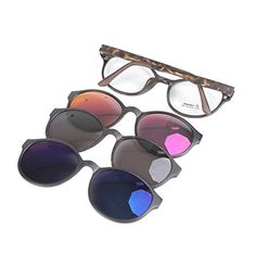 e164c8b0206b ... with Magnetic Polarized Sunglasses for Women Men Driving Fishing  Cycling with Mirrored Lenses and Unbreakable Frame