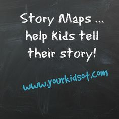Story Maps - help kids tell their story! - Your Kids OT Pediatric Occupational Therapy, Pediatric Ot, Speech Language Pathology, Speech And Language, Persuasive Writing, Writing Prompts, Social Aspects, School Subjects, Dyslexia
