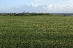 View over the Lazy Beds to Teach Cormac and Forradh, Hill of Tara.