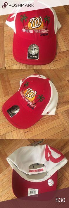 Washington Nationals Spring Training 2016 Hat Brand new hat from Washington Nationals baseball Spring training 2016. Accessories Hats