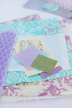Pretty much the color palette of Marissa's room: lilac, mauve, lavender with green and light blue Hue Color, Color Inspiration, Inspiration Boards, Paper Decorations, Green And Purple, Color Schemes, Color Combos, Carpe Diem, Filofax