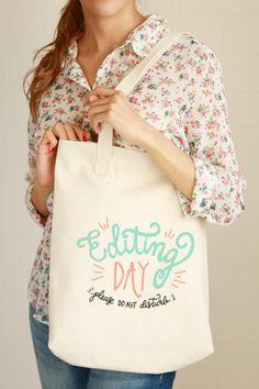 Editing Day Tote Bag