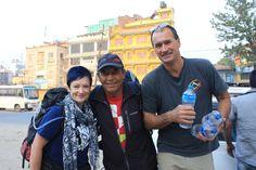 Michelle & Peteleaving for the Tamang Heritage Trek