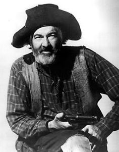 """Gabby Hayes (1885 - 1969) American motion-picture actor of the 1920s through 1950s. Well-known for playing the sidekick role to several star actors, including John Wayne, Roy Rogers, and Randolph Scott. He hosted """"The Gabby Hayes Show"""" on television in the 1950s."""
