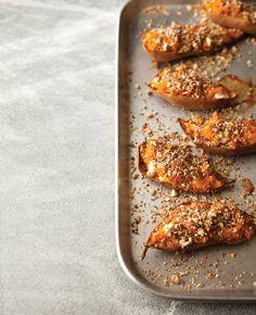 Twice-Baked Sweet Potatoes with Dukka | Vegetarian Times