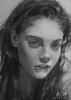 Kai Fine Art is an art website, shows painting and illustration works all over the world. Portrait Sketches, Portrait Illustration, Art Sketches, Art Drawings, Foto Portrait, Pencil Portrait, Portrait Art, Historischer Roman, Digital Painting Tutorials