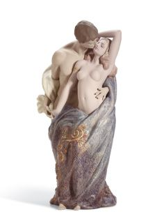 01011914  PASSIONATE LOVERS  Issue Year: 2006  Sculptor: Antonio Ramos Size: 46x25 cm   Limited Edition 1000 pieces