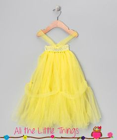 Princess Belle Tutu Dress by AllTheLittleThings10 on Etsy, $35.00