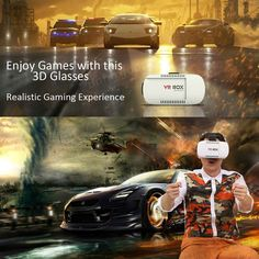 VR Box 3D Headset Virtual Reality Glasses For iPhone 6 Plus Samsung Galaxy S5 S6 Sale-Banggood.com