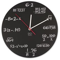 Why yes, yes I do want this clock