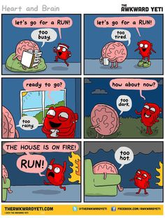 The Awkward Yeti | Heart and Brain | Too hot