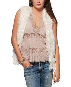 (I own) THML Fur Vest