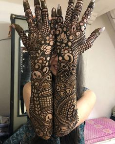 Here are the best and Latest Henna Mehndi Designs for Brides. Arabic Bridal Mehndi Designs, Wedding Henna Designs, Khafif Mehndi Design, Engagement Mehndi Designs, Indian Mehndi Designs, Mehndi Designs 2018, Henna Art Designs, Mehndi Design Pictures, Mehndi Designs For Beginners