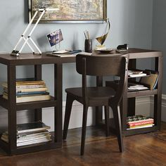 """""""open"""" desk - perfect for a small space"""