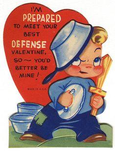 15 Creepy Vintage Valentines - ODDEE