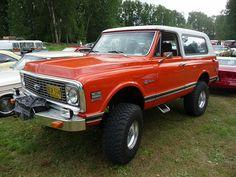 1971-72 Chevrolet K5 Blazer | Flickr - Photo Sharing!