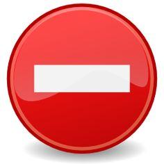 Icône rouge rond sens interdit à télécharger gratuitement Whatsapp Tricks, Android Hacks, Clipart, Website, Smile, Deco, Yann Tiersen, Decor, Deko
