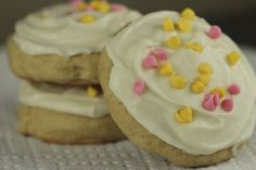 Cakey Sugar Cookies with Cream Cheese Frosting Recipe - Satisfy My Sweet Tooth