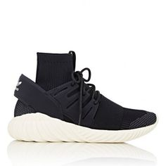 ADIDAS TUBULAR DOOM PRIMEKNIT BLACK SHOES (MEN)