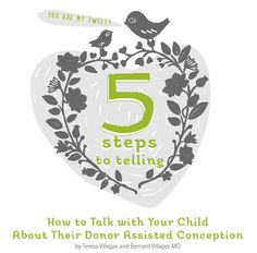 How To Talk with Your Child About Their Donor Assisted Conception. To Tell or Not To Tell... #infertility  #ivf