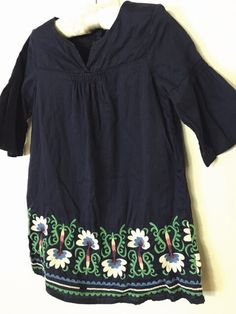 Check out this listing on Kidizen: Baby Gap Navy Embroidered Dress  via @kidizen #shopkidizen