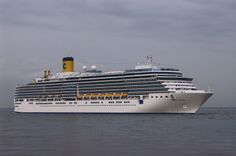 Costa Luminosa 92,700 GT Capacity of 2260 passengers