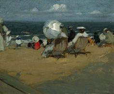 ArtHistoryReference - Charles Hoffbauer - Beach (study)
