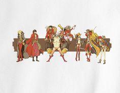One Piece Mugiwara Pirates Luffy Zoro Usopp Sanji Brook Chopper Film Z Nico Robin Tony Franky anime manga T-Shirt
