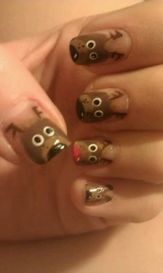 Reindeer nails!
