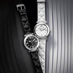 Twitter / Chopard: Discover our new 40 mm #IMPERIALE Black & White models: monochromatic purity for timeless chic #Baselworld