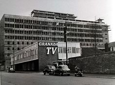 Manchester TV: The Granada studios complex on Quay Street, Manchester