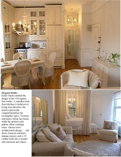 Love this small space very sophisticated and cozy too