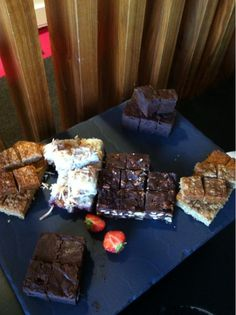 Dont let the name 'hatton rocky road' fool you! These treats are the smoothest road you'll ever walk down.