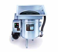 Salvajor S914 4603 Scrap Collector, Scrapping, Pre-Flushing & Disposer, 3/4 HP, 460/3 V, Each