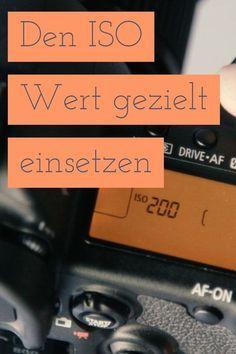 Der ISO Wert ist eine der wichtigsten Einstellungen in der digitalen Fotografie. Hier zeige ich dir, wie du ihn einstellen kannst.