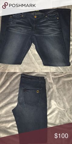 MICHAEL KORS JEANS MICHAEL KORS SKINNY JEANS // 98% COTTON 2% SPANDEX [never worn- perfect condition] DARK BLUE JEANS Michael Kors Jeans Skinny