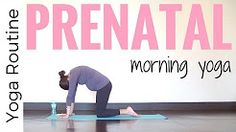 This 15 minute Prenatal Morning Yoga Routine is ideal for those stiff, achy mornings. Appropriate yoga for all 3 trimesters! The slow start will melt tension. Prenatal Workout, Prenatal Yoga, Pregnancy Workout, Fit Pregnancy, Yoga Positions For Beginners, Yoga For Beginners, Yoga Flow, 3. Trimester, 30 Minute Yoga