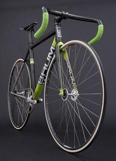 GTR Metallic Black, Venom Green, Corretto Track bike || by Baum Cycles, via Flickr