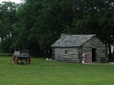 Little House on the Prairie, replica on the Ingalls homesite, Independence, KS